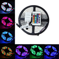 Wholesale LED Strip Light Non waterproof LED Flexible Light Strip V LED Color Options SMD Feet Meter Christmas Light