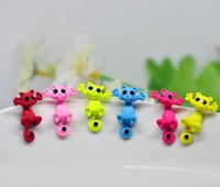 best puncture - Best seller Women s Girl s Cat Puncture Ear Stud Piercing Earrings Crystal Alloy Cute