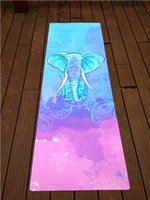Wholesale new arrival eco friendly natural rubber yoga mat anti slip fitness yoga mat