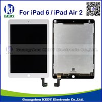 Wholesale 100 Original replacement For Apple iPad th Air2 A1566 A1567 LCD display touch screen for ipad air kedytechnology02