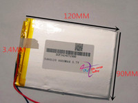best banking books - best battery brand high capacity V lithium polymer battery mah Tablet PC MP5 E book PDA power bank rechargeable b