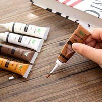 Wholesale 5 piece Furniture repair coating fast dry color paste Wood floor hole repair scratch putty paste paint for desk door and chest