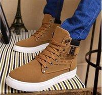 area canvas - 2016 men s fashion white canvas shoes colors high platform flat shoes fashion sneakers area Zhi epacket
