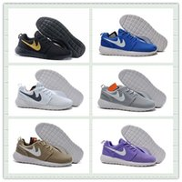 athletic mesh fabric - Hot Sale Mesh Roshe One Br Moire Running Shoes Men Women Breathable RosheRun Athletic London Olympic Sport Sneakers With Box Size US5