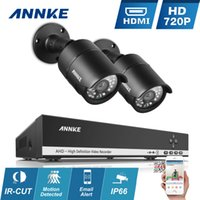 Wholesale ANNKE CH P HD Video CCTV DVR TVL IR CUT Day Night Security Camera System