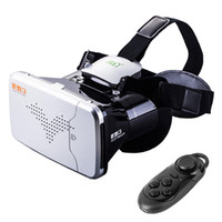 Wholesale RITECH Riem Virtual Reality D VR Glasses Head Mounted Headset Private Theater for inches Smartphone With Bluetooth Remote Control