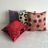 Wholesale New Arrival Decorative Pillowcase Home Bedding Print Throw Pillows Cushion Cover Cases Capa Almofada Covers for Sofa cm JA0173