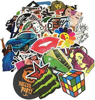 Wholesale 300pcs Stickers Decal Vinyl Roll Car Skate Skateboard scooter sticker
