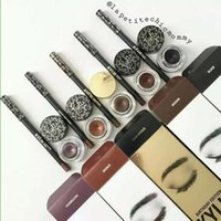 Wholesale Christmas Kylie Cosmetics Kylie Kyliner In Brown AND Black Kyliner Kit Birthday Edition set eyeliner brush cream