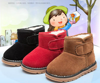 Wholesale New Children Australia slip resistant Snow Boots Winter Baby Boy Snow Boots Kids Ugly Boots Shoes