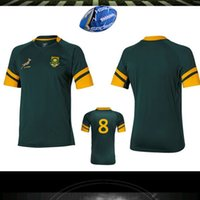 africa jersey - 2016 Top quality South Africa rugby jerseys New Zealand rugby shirts Springboks South Africa rugby jerseys