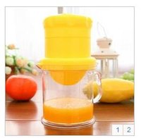 automatic orange squeezer - Multifunction fruit juicer household Manual Fruit Vegetable Tools Squeezer Orange Lemon160716