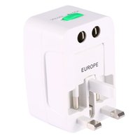 Wholesale New travel Plug Adapters All in Travel Worldwide Universal US UK AU EU Electrical Power Plugs Adapter