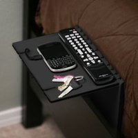 bathroom tablet stand - Floating nightstand for iPhone also iPad tablet table lap stand