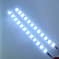 Wholesale 2pc cm V LED Car Auto Motorcycle Waterproof Strip Lamp Flexible Light