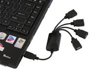Wholesale Black Color Octopus Cable USB HUB adapter High speed Smart Hub Adaptor for PC