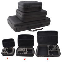Wholesale Small Medium Large Size New Travel Storage Collection Bag Case for GoPro Hero Action Camera Accessories Fast Shipping