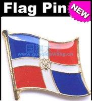 rep - Dominican Rep Flag Badge Metal Pin Flag badge country flag badges military flag badges flag badge pin