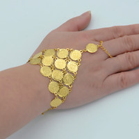 arab money - Coin Bracelet for Women Islam Muslim Arab Coin Money Sign Woman k Gold Plated Middle Eastern Africa Jewelry Bangle Metal Coin
