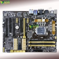 asus ethernet - Second Hand For Asus Z87 PLUS Desktop Motherboard For Intel Z87 Socket LGA DDR3 On Sale