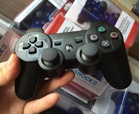 Wholesale stock P3S wireless controller With retail box For PlayStation PS3 Wireless Bluetooth Game Controller Gamepad