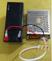 Wholesale 12v a a power supply with back up battery automatic battery charger for access control machine