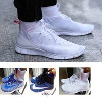 Wholesale Good Shoes Mens Boots Free Run Shoes Mercurial Superfly Black White Sneakers WOMEN SPORTS SHOES
