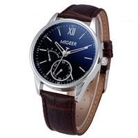 Wholesale New Quartz Watch Men Casual Leather Man Watches Date Shock Resistant Clock mens Montre Homme