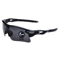 Oulaiou Polarized Cyclisme Lunettes de soleil Sports de plein air Pêche Lunettes de vélo Lunettes de soleil vélo Goggles Lunettes pour hommes UV400