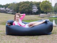 2016 Nova Lamzac Hangout rápido inflável Lounger Air sono Camping Sofá KAISR Praia tecido de nylon saco de dormir Bed preguiçoso Cadeira ourdoor