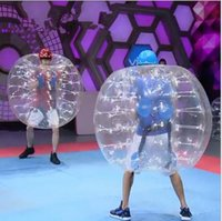 Wholesale 1 m Inflatable Body Zorbing Ball pvc inflatable bumper ball body zorbing bubble ball fashion inflatable soccer ball