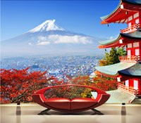 architectural wedding - custom murals photo wallpaper luxury HD Fuji Japanese architectural beauty of the living room dining room den d large mural d wallpaper