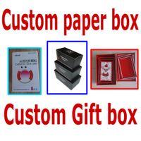 Wholesale custom printed gift paper box folding paper box gift box