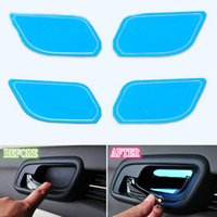 Wholesale 4X For Chevrolet Malibu Blue Steel Door Inside Door Bowl Trim decoration
