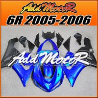 best kawasaki - Fairing Top Sale Addmotor NewDesign Injection Mold For Best Chioce Kawasaki ZX6R ZX R Blue K6526 Free Gifts
