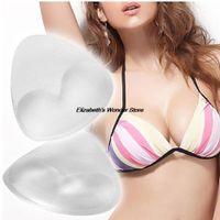 beach gel - Beach Swimwear Swimsuit Women Push Up Sexy Bras Pads Insert Bra Chest Breast Enhancer Silicone Gel