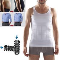 Wholesale Slimming N Lift TV Shopping Men s Belt Body Sculpting Polyamide Nylon Men Vest Waist Abdomen Slimming Underwear Beer Belly