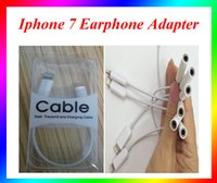 Wholesale Headphone Adapter Headphone Converter iphone Cable cm long Headset Connector Cord For iPhone7 i6 i6Plus iphone s S Plus s