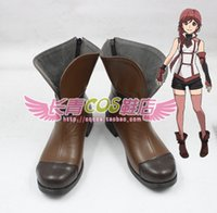 ash shoes boots - Grimgar of Fantasy and Ash Yume Cosplay Boots shoes shoe boot AT135 Halloween