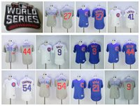 banks world - 2016 World Series champions Patch Chicago Cubs Javier Baez Kris Bryant Chapman Rizzo banks Russell Baseball Jerseys