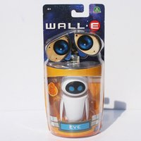 Wholesale Hot Sale WALL E robot models Walle amp Eve little cute toys