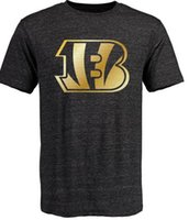 bengals jerseys cheap - Bengals T Shirts cheap rugby football jerseys Cincinnati Salute To Service Banner Wave Black Gold Collection Tshirts freeshipping