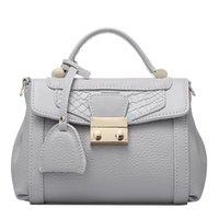 alligator hides - new women fashion leisure genuine leath shoulders split hide cowhide handbags crossbody leather bags