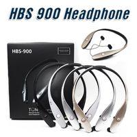 apple adjustable - HBS HBS900 Tone Wireless Sport Neckband Headsets Adjustable Headphone Bluetooth Stereo Earphones For iphone plus DHL FREE HBS