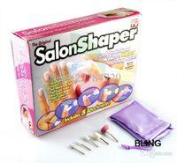 Wholesale 1sets Electric Nail Salon Art Polish Sets Manicure Pedicure Nail Tools Free CN Post Shipping