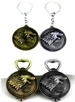 animal house songs - FC Game of thrones Bottle Opener Keychain House Stark Key Chain Song Of Ice And Fire Key Rings Holder Souvenir Gift Men Jewelry