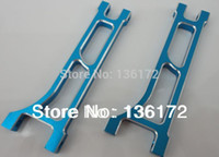 aluminum swing sets - Remote Control Parts Accs set henglong rc car Mad truck Aluminum Upgrade Parts front lower Swing Arm