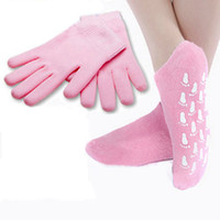 Wholesale spa gloves spa socks pairs spa gel gloves and foot socks foot care