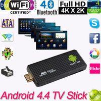 Wholesale Mini Dongle TV Stick Android PC Quad Core Rockchip RK3188T G G Wifi TV Media Player MK809III Bluetooth XBMC DLAN