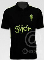 active science - Sporting Gijon home jersey black Away Soccer Jersey Soccer Jersey science Liga